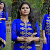 Reshmi Menon Blue Churidar