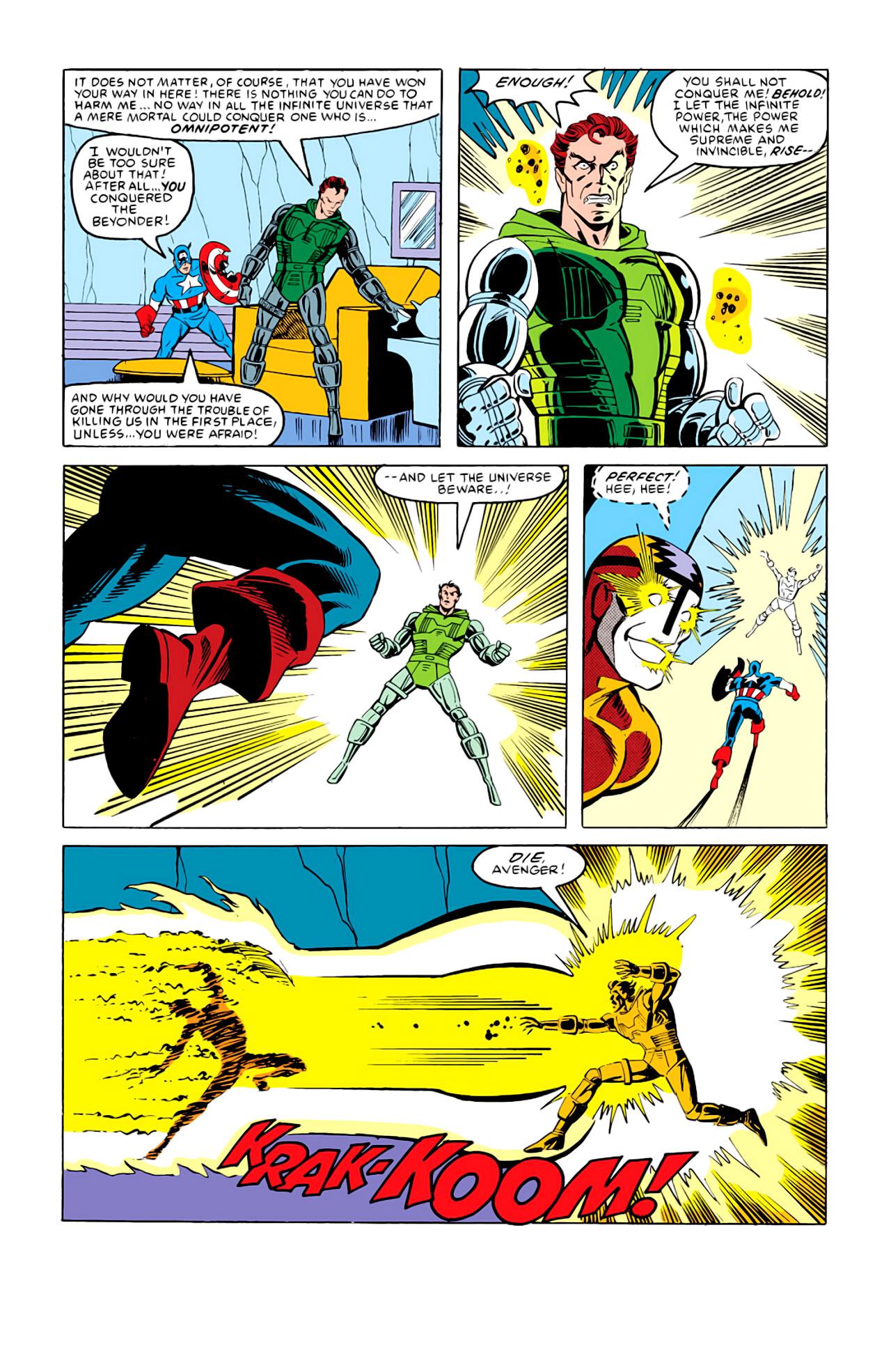 Captain America (1968) Issue #292m #220 - English 29