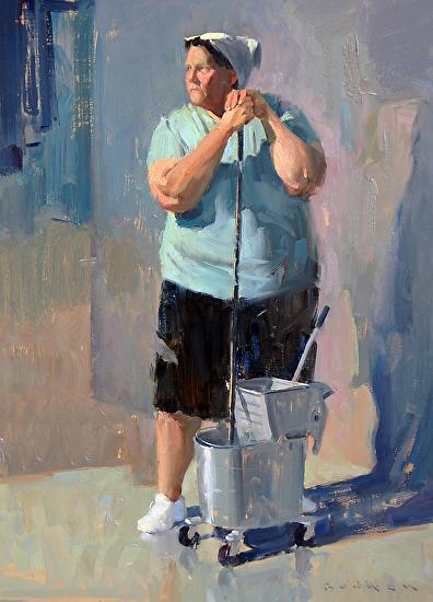 Eric Bowman. Figure. Pintura | Painting