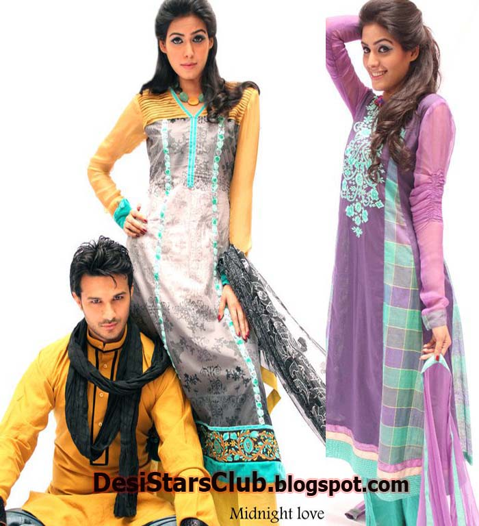 Summer Dresses Collection For Men and Women by Zayn Rashid