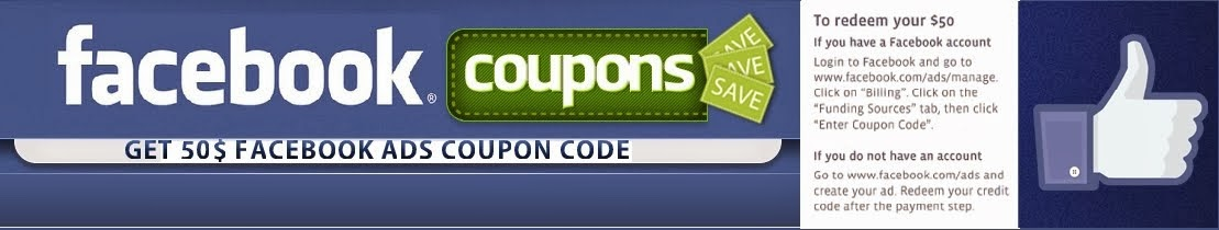 Free Facebook Advertising Coupons