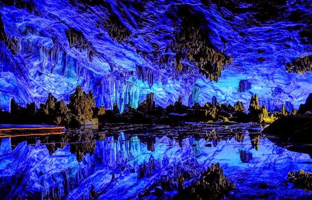 Reed Flute Cave, China1