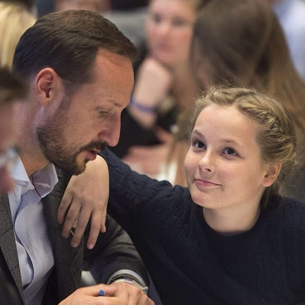 Prince Haakon And Princess Mette-Marit Hosted A Conference