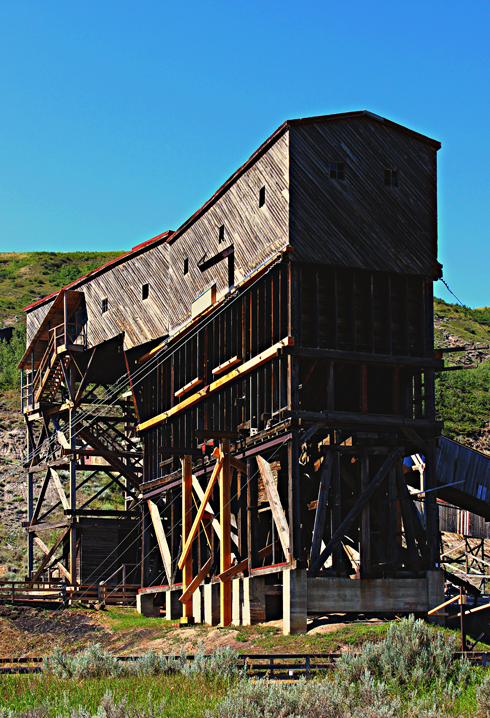 atlas coal mine alberta travel photography series