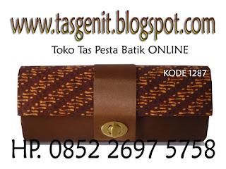 jual tas pesta, tas pesta batik, dompet batik