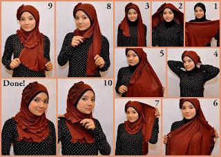 Hijab Tutorial mudah