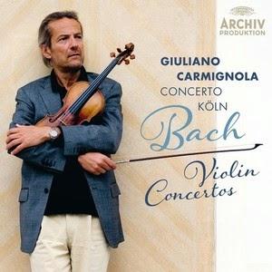 Giulian Carmignola - Bach violin concertos - Archiv