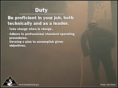 Duty: Be proficient in your job, both technically and as a leader.