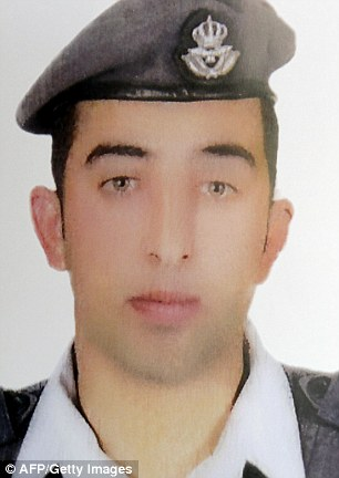 Jordanian pilot Muath Al Kasasbeh