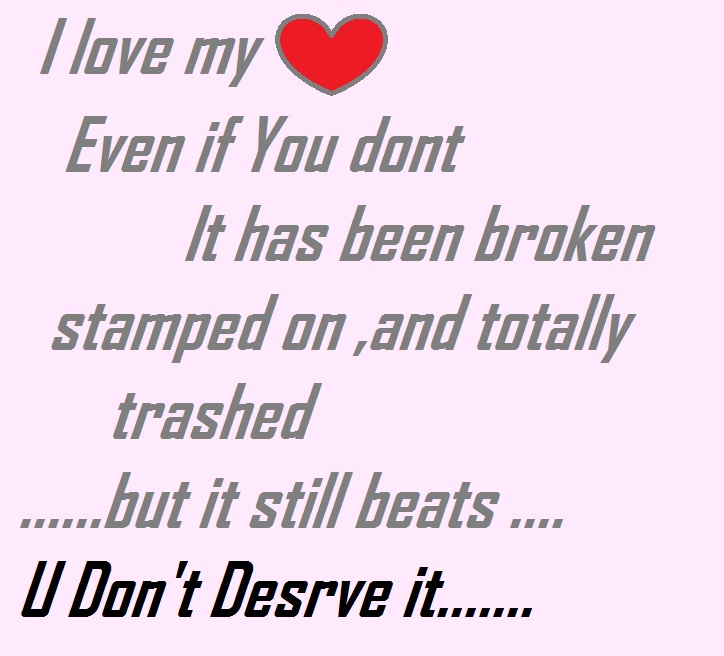 Heart Broken Quotes For Him. QuotesGram