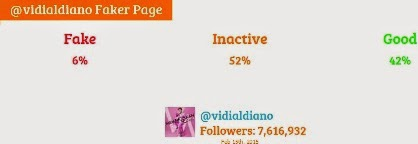vidi aldiano fake followers