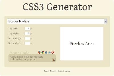 CSS3 Generator - генератор фишек CSS3