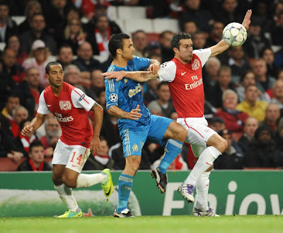 Arsenal FC 0 - 0 Olympique Marseille (2)
