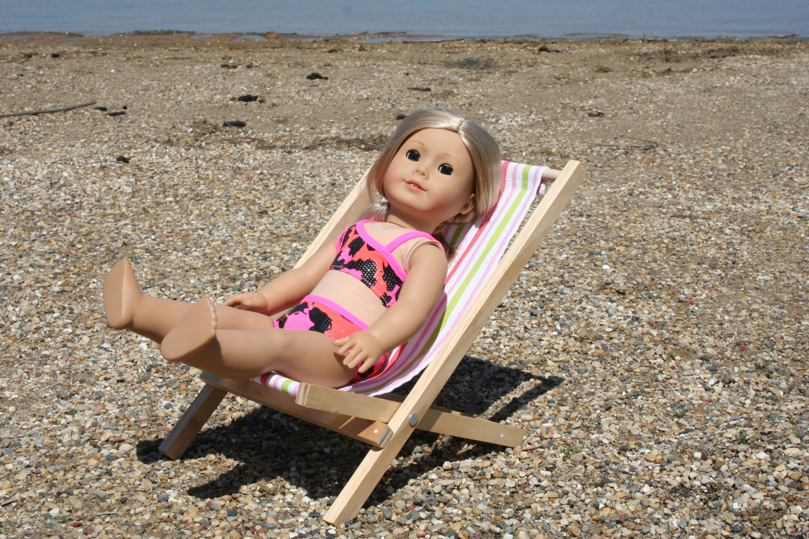 Your american girl doll fold able beach chair for american girl doll