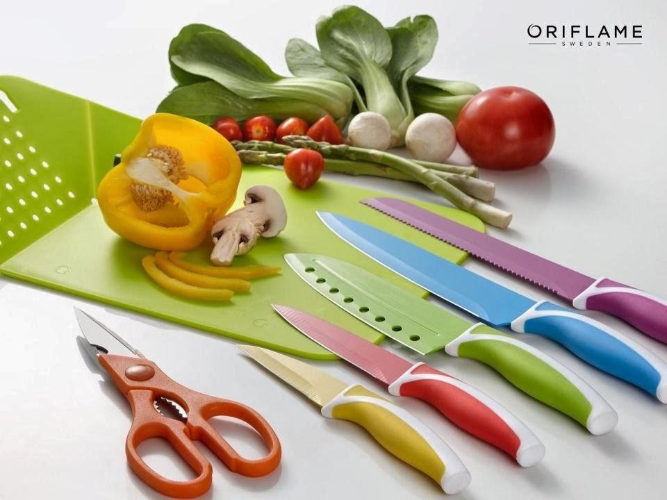Orifemme outlet promoci n set de cuchillos para cocina for Set cuchillos villeroy boch tabla
