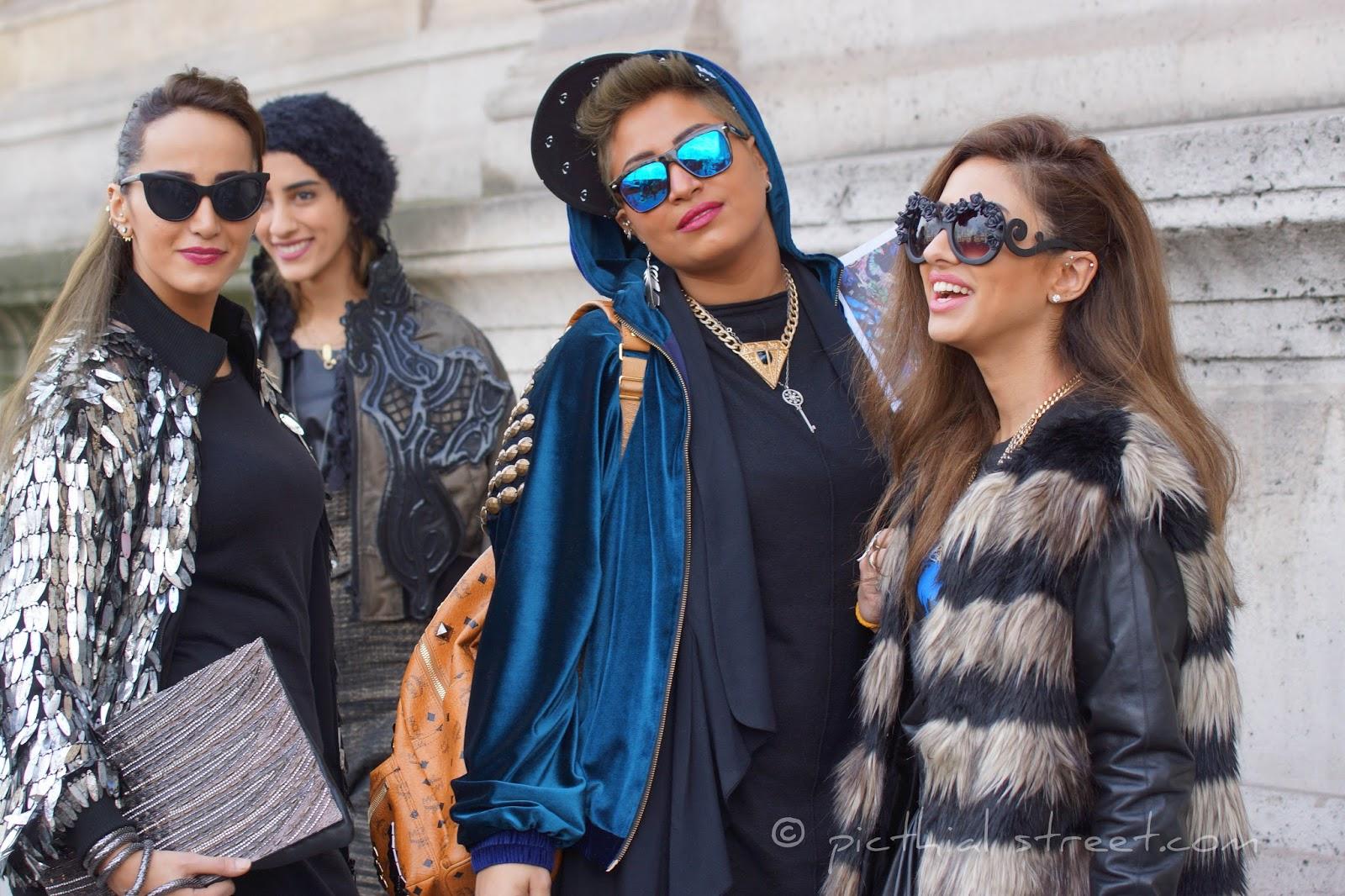Street look Fashion Week 2