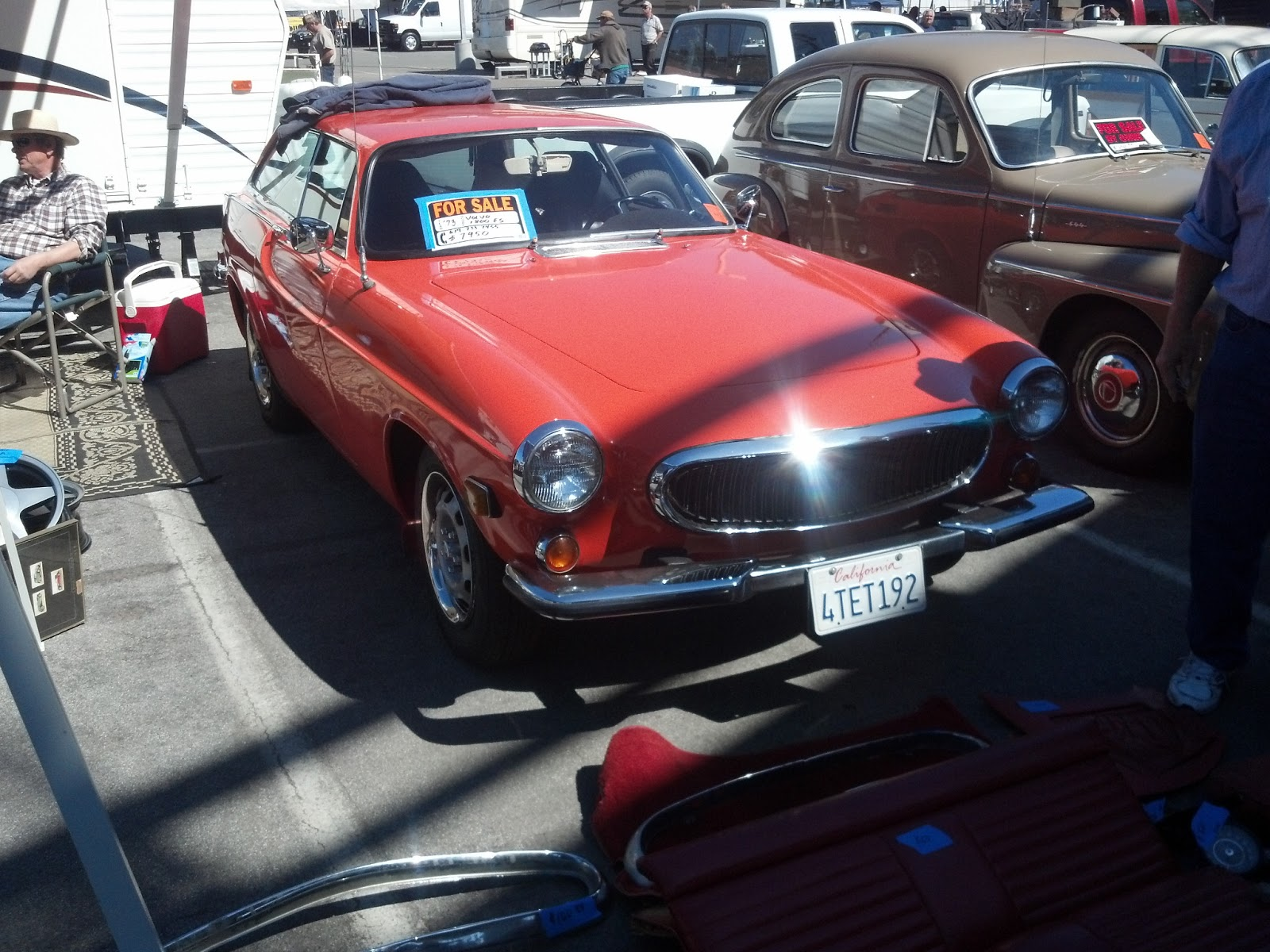 Daily Turismo 10k Swap Market Find 1973 Volvo 1800ES Roadkill