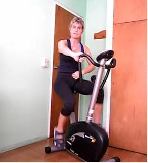 Rutina ejercicios quema grasas con bicicleta