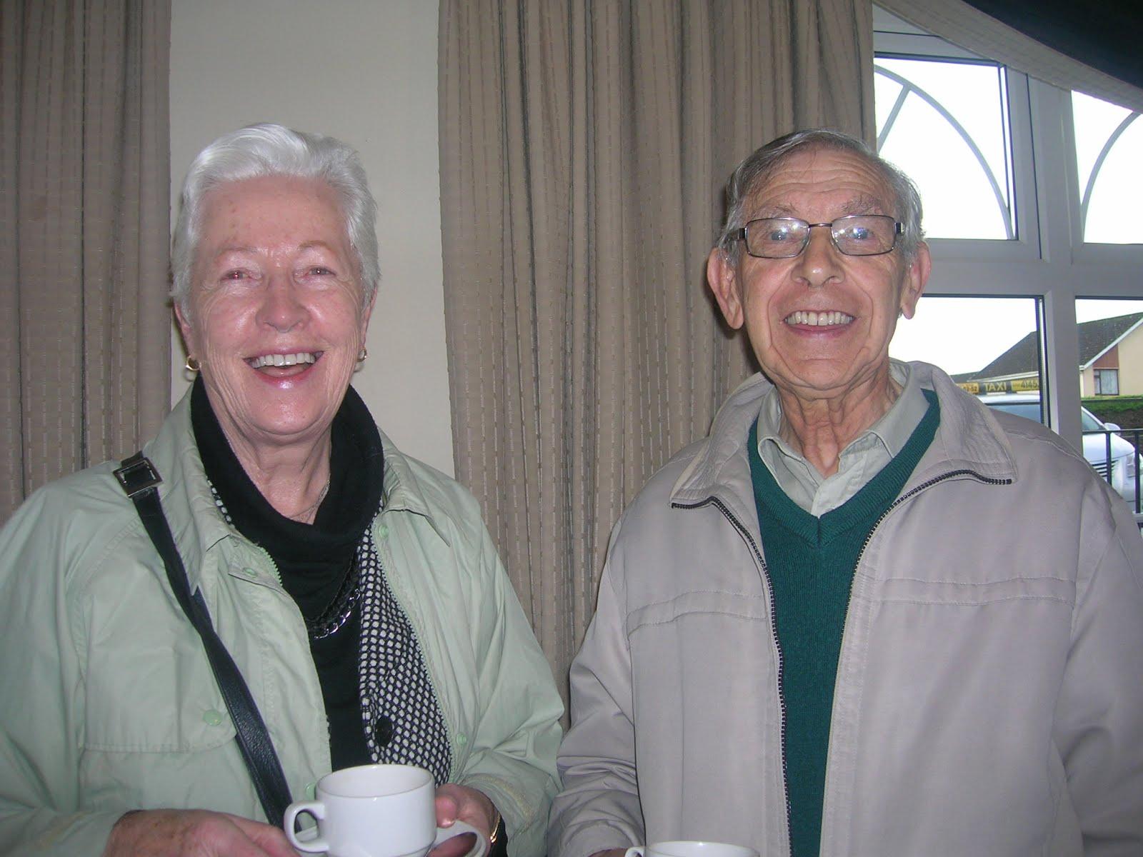 Carmel Crawford and Vincent Higgins