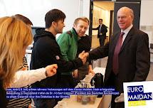 Maidan-Verletzte treffen Bundestagspräsident Lammert