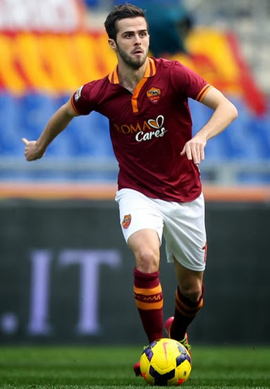 Miralem Pjanic Manchester United Transfer AS Roma 2014