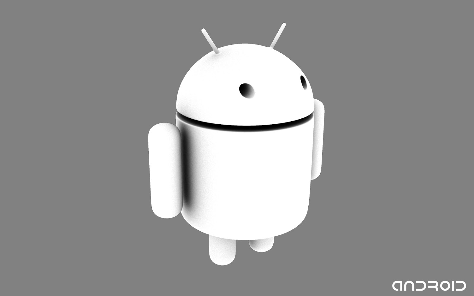 3d White Android Wallpaper HD Widescreen