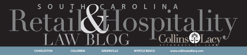 South Carolina Retail and Hospitality Law Blog