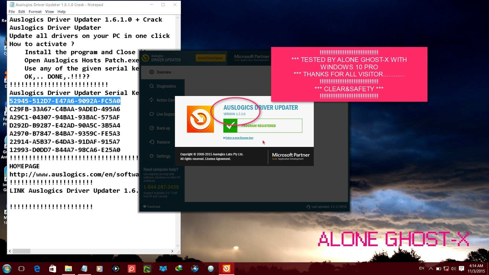 tweakbit driver updater license key gen