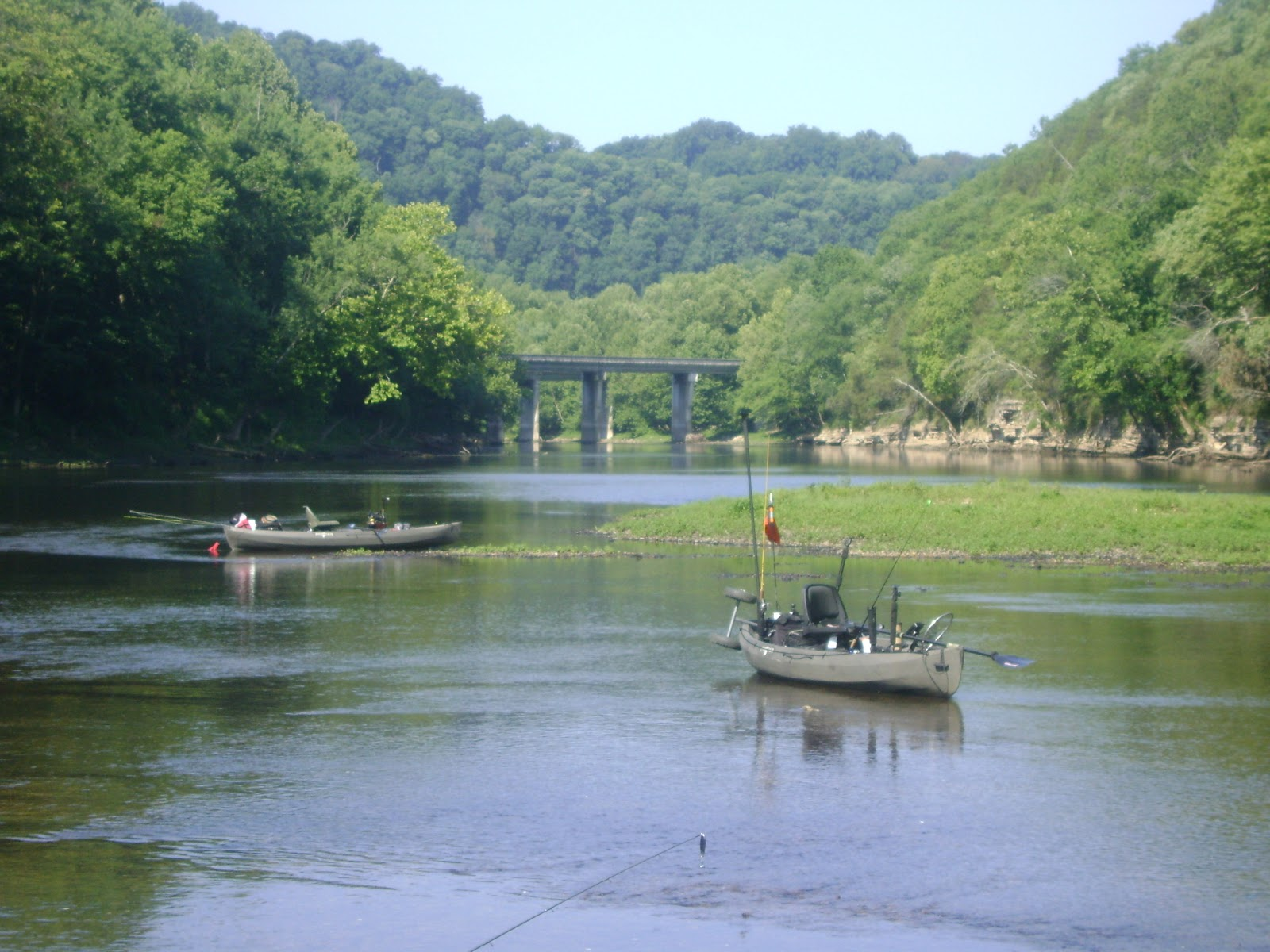 Cumberland river fishing blog caney fork june 18th for Cumberland river fishing