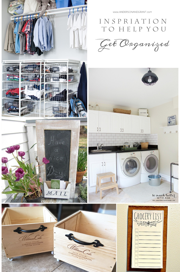 Inspiration to Help you Get Organized | Features from Your Turn to Shine Link Party
