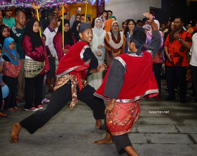 Malay traditional silat showcase