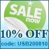 10% off, usb phone world