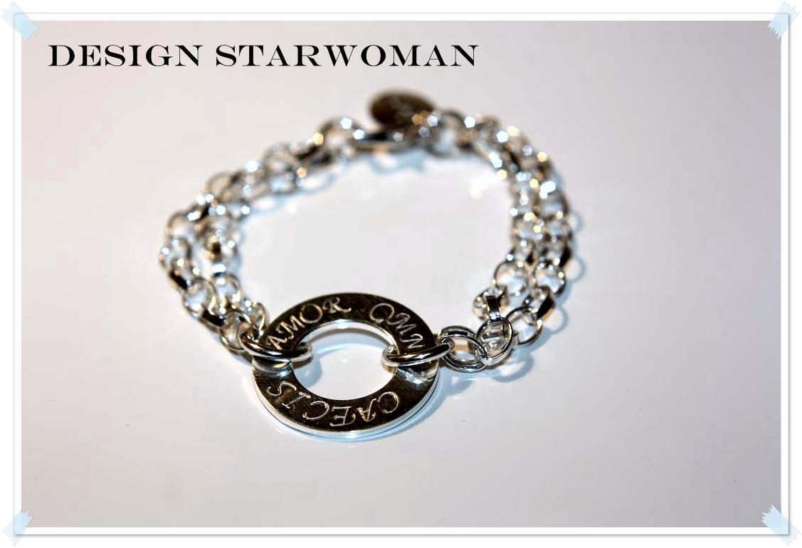 Hon designade ett armband i äkta silver och jag gjorde mitt bästa för att  nå hennes önskemål. 9ca13cdd3bf2e