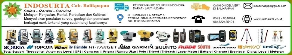 INDOSURTA GROUP | SALES RENTAL SERVICE  | ALAT SURVEY DAN PEMETAAN