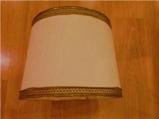 refashioned classical lampshade