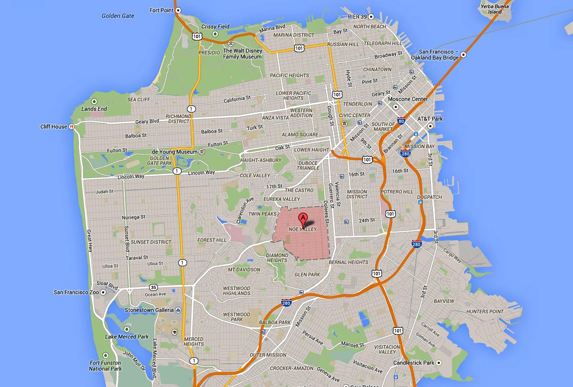 San Francisco Bay Area Photo Blog San Franciscos Noe Valley
