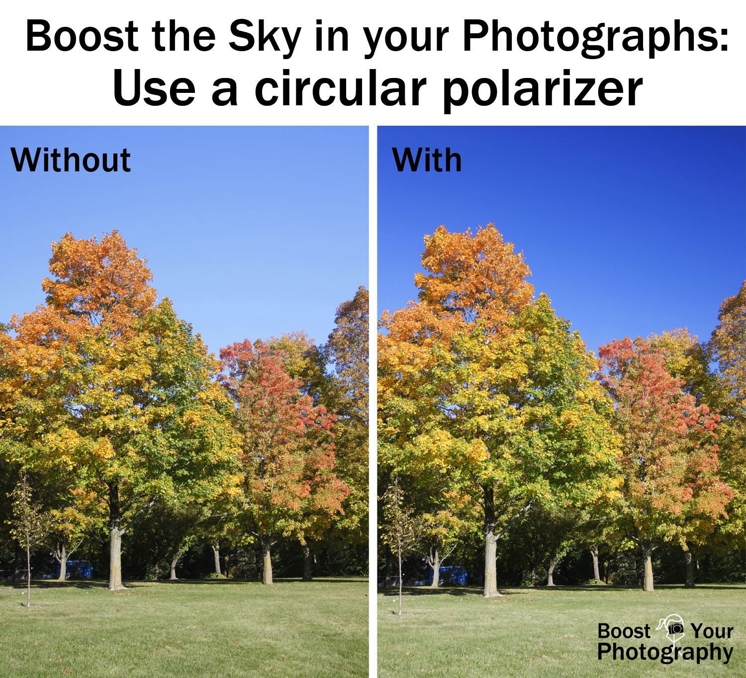 Boost the Sky in Your Photographs: use a circular polarizer | Boost Your Photography