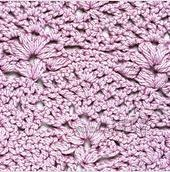Punto crochet calado #17
