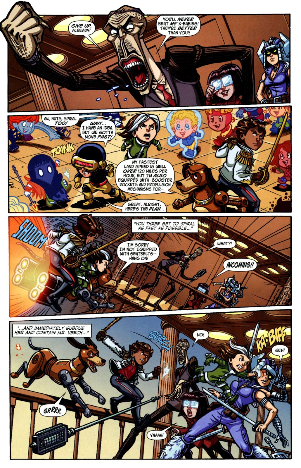 Read online X-Babies comic -  Issue #4 - 12