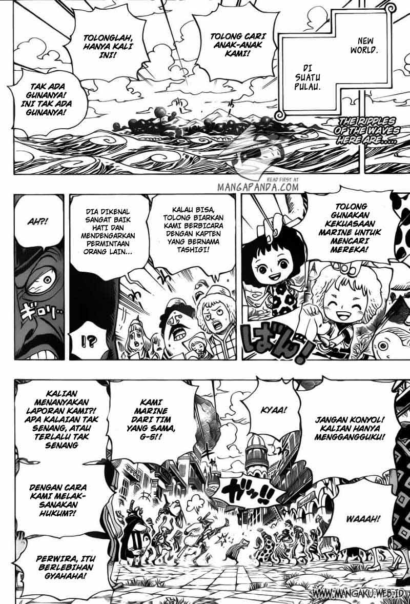 Komik manga 002 shounen manga one piece