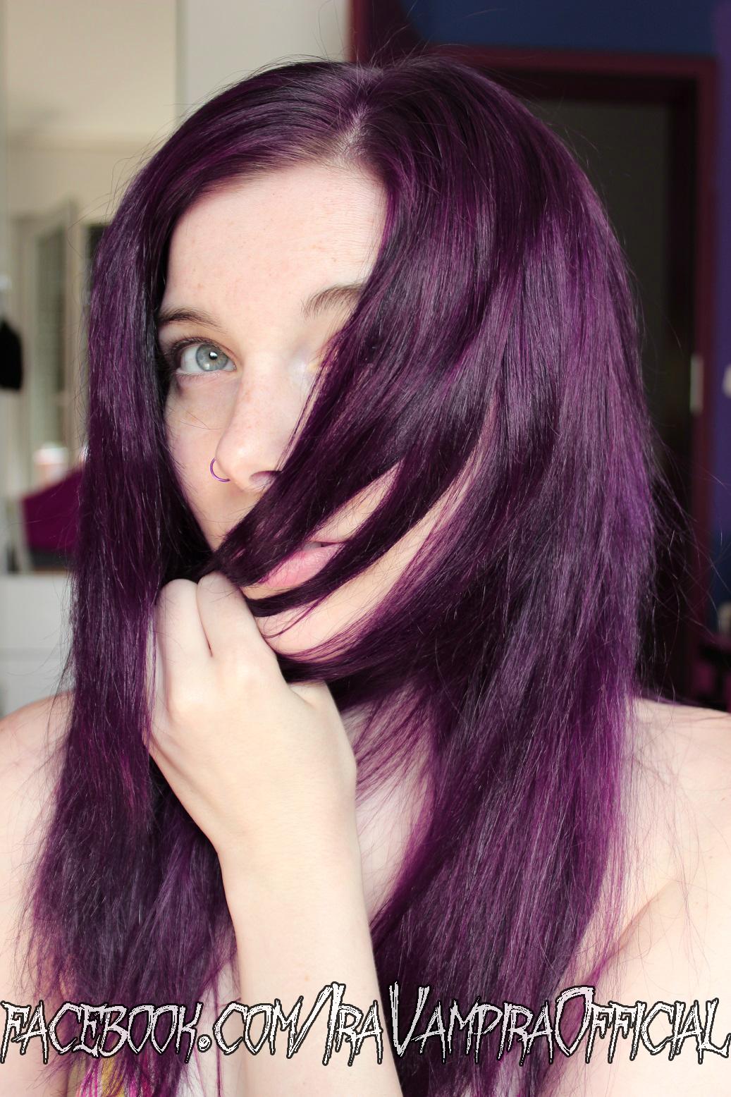 Ira Vampira`s Blog: Directions auf BRAUNEM Haar - Dunkles