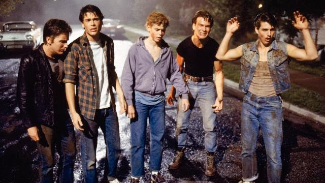 The outsiders, Rebeldes, película