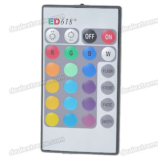 RGB IR Remote control