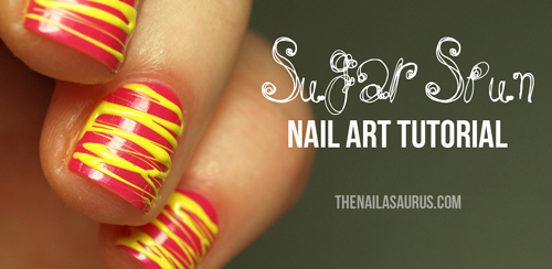 Sugar Spun Nail Art Tutorial
