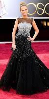 Кристин Чиноует в рокля с камъни на Оскари 2013