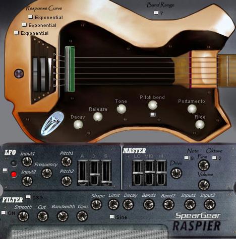 Raspier - Plugin VST de Baixo Sintetizado
