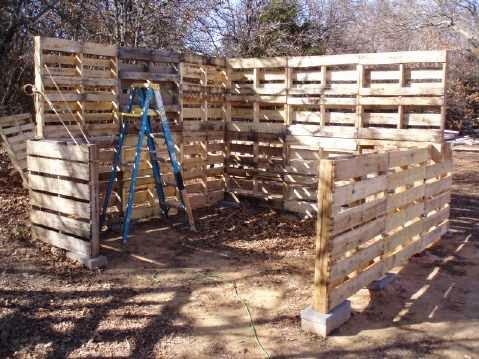 Como hacer una caba a o almac n con for Casa de palets paso a paso