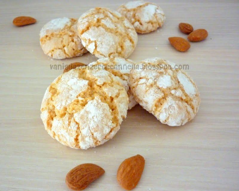 Ricetta biscotti alle mandorle e cannella