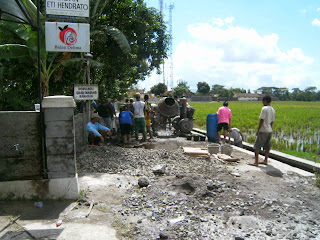 Gotong Royong Desa Banaran Munggung Karangdowo Klaten