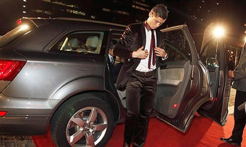 cristiano ronaldo car's collection